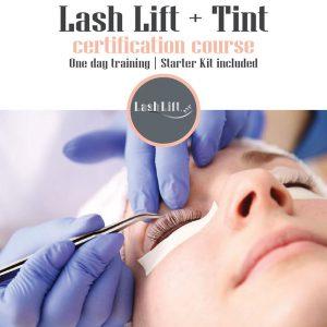 Lash Lift & Tint Course